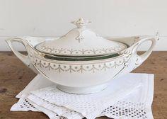 Antique tureen English tureen vintage serving dish 1880s