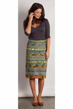 Me likey ... Boom Shankar 50s dresses Pencil Cleo Skirt - Womens Knee Length Skirts at Birdsnest Fashion