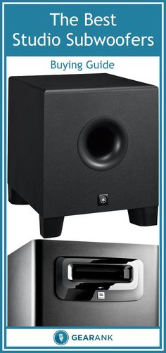 Detailed guide to the Best Studio Monitor Subwoofers. Includes advice on how to select and integrate the best subwoofer for your current monitoring setup.