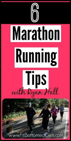 6 maratahon running tips from the one and only Ryan Hall! | via @FItbottomedgirl