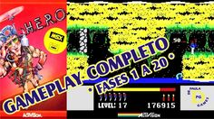 HERO (MSX) Gameplay Fases 1 a 20