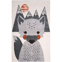 Le tapis enfant Mr Fox renardde la marqueNattiots'accordera parfaitement avec les accessoires d'une chambre d'enfant. Idéal pour ne pas avoir froid à ses petits pieds, il donnera une ambiance très chaleureuse !