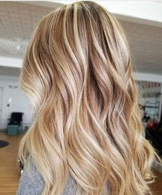 Balayage Blonde Ends - 20 Fabulous Brown Hair with Blonde Highlights Looks to Love - The Trending Hairstyle Golden Blonde Hair, Blonde Hair Looks, Brown Blonde Hair, Cool Toned Blonde Hair, Blonde On Blonde, Bright Blonde, Blonde Balayage Honey, Balayage Hair, Blondish Brown Hair