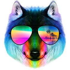 Summer Wolf II is a T Shirt designed by clingcling to illustrate your life and is available at Design By Humans
