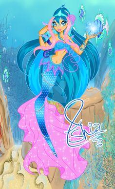 Ashia Aquaria Magic Mermaid by AshianaAquaris Mermaid Barbie, Winx Club, Sailor Moon, Cinderella, Disney Characters, Fictional Characters, Harry Potter, Deviantart, Disney Princess