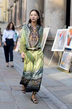 Street Style nas semanas de moda   Upost