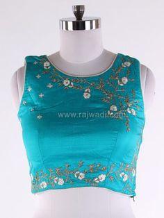 Silk Wedding Choli Suit Online