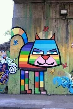 Detroit street art.