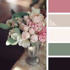 Purple-black adds depth and richness of the palette. Ashy shades of pink and evoke a sense of nostalgia, association with antiques, luxury, man. The palette is perfect for bedroom, living room or dining room, decorated in classic style.