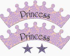 PAPIROLAS COLORIDAS: Printable Princess Cupcake Wrappers