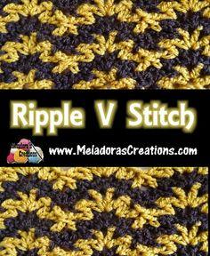 Ripple V Stitch PINTEREST