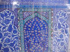 Wall tiles, Topkapi Palace, Istanbul