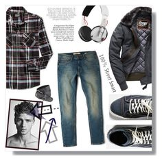 """""""-Logan-"""" by artistic-biscuit ❤ liked on Polyvore featuring Retrofit, G-Star Raw, MANGO MAN, A. Kurtz, Superdry, Skullcandy, Paolo, mens, men and men's wear"""