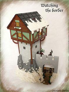 ~ Lego MOCs Fantasy ~ Watching the border main large