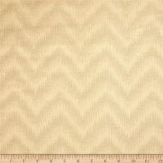 Waverly Peaks Solid Chevron Damask Cappuccino from @fabricdotcom  This solid color tone on tone, medium weight cotton damask fabric (the damask design is a chevron pattern), this fabric is perfect for window treatments (draperies, curtains, valances, and swags), duvet covers, pillow shams, accent pillows, tote bags, aprons and light upholstery. This fabric has 12,000 double rubs.