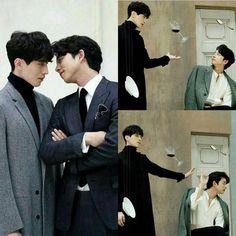 I loved these two! Gong Yoo, Lee Dong Wook Goblin, Goblin Korean Drama, Song Joon Ki, Goblin Kdrama, Korean Drama Quotes, Goong, Drama Fever, Yook Sungjae