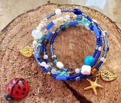 Spiralarmreife - Armband, Memory Wire - ein Designerstück von Gluecksfrosch bei DaWanda
