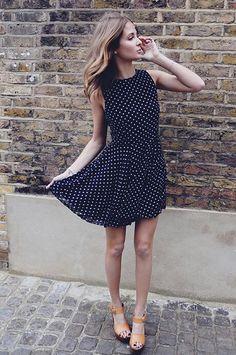 Millie mackintosh and a cute polka dot dress