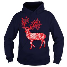 Snowflake Reindeer - Red T-Shirt #gift #ideas #Popular #Everything #Videos #Shop #Animals #pets #Architecture #Art #Cars #motorcycles #Celebrities #DIY #crafts #Design #Education #Entertainment #Food #drink #Gardening #Geek #Hair #beauty #Health #fitness #History #Holidays #events #Home decor #Humor #Illustrations #posters #Kids #parenting #Men #Outdoors #Photography #Products #Quotes #Science #nature #Sports #Tattoos #Technology #Travel #Weddings #Women