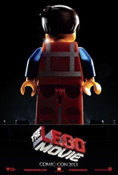 The LEGO Movie (2014) Comic-Con Poster #theLegoMovie#film