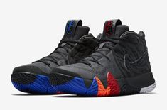 984f7685f0d014 Factory Authentic Nike Kyrie 4 Year of the Monkey Black Anthracite For Sale