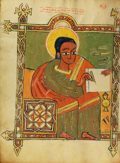 Gospel Book; Ethiopia; about 1504 - 1505; Tempera on parchment;   J. Paul Getty Museum, Los Angeles, California