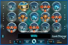 Cosmic Fortune is a 5 reel, 15 payline, Net Entertainment (NetEnt) non progressive video slot machine. More this way.....   http://www.casinocashjourney.com/slots/net-entertainment/cosmic-fortune.htm