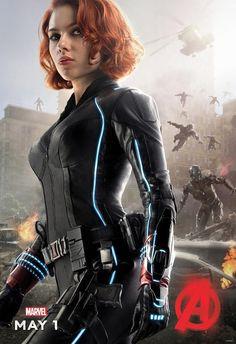 Viuda Negra en Vengadores: la era de Ultrón (Avengers: age of Ultron)