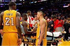 Julius Randle, Fantasy Basketball, Double Clutch, Leg Injury, Latest Sports News, Legs, Nba 2014, Bridge
