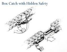 Box catch with hidden safety - Google Search