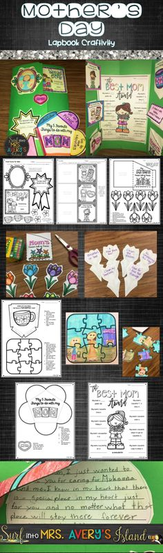 This Mother's Day craft for kids is an easy and inexpensive gift for students to make that will share their love with their mom this Mother's Day.  Click here for a fun, homemade project that can be made easily in the classroom and is guaranteed to put a smile on the face of a special mom, aunt, or grandmother this Mother's Day!