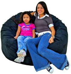Special Offers - Cozy Sack 4-Feet Bean Bag Chair Large Black - In stock & Free Shipping. You can save more money! Check It (April 12 2016 at 01:02AM) >> http://sofaarmchairusa.net/cozy-sack-4-feet-bean-bag-chair-large-black/