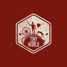 Badge Design, Logo Design, Tiny World, Selfie, Logos, Cards, Instagram, Logo, Maps