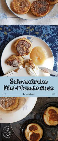 Schwedische Mini-Pfannkuchen (Krabbelurer)