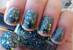 Golden Years  HARE Polish  Fall 2012  Hand Blended by HAREpolish, $10.00