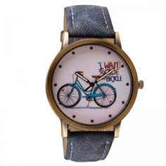 Denim Watch - I Want  To Ride A Bicycle