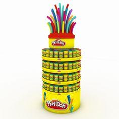 """Popatrz na ten projekt w @Behance: """"Columna Play-Doh"""" https://www.behance.net/gallery/32571849/Columna-Play-Doh"""