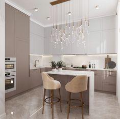 Dining Room Design, Interior Design Kitchen, Kitchen Reno, New Kitchen, Küchen Design, House Design, Bedroom Closet Design, Beautiful Living Rooms, Sweet Home
