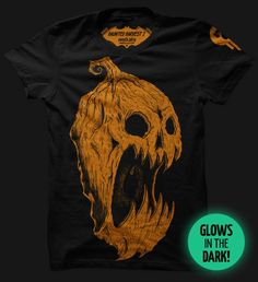 Haunted Harvest 2 - Glows! | Seventh.Ink - Art and Clothing by Matthew Johnson