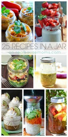 25 Recipes in a Jar on Real Housemoms