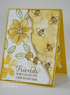 Crafts Bouquet: Stampin' Up Garden In Bloom and Hello Honey Gift Set