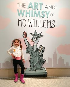 One of the cutest NYC art exhibits has arrived and you'll will want to check it out - The Art and Whimsy of Mo Willems at the New-York Historical Society.