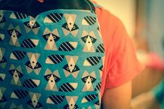 Raccoon Backpack por Bibadu en Etsy