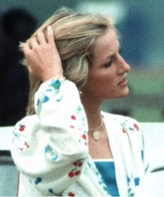 July 6, 1983: Princess Diana at Smith's Lawn polo grounds, Windsor