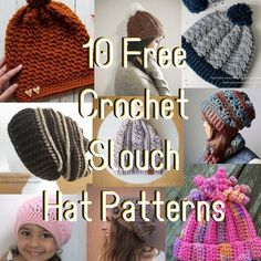 10 Free Crocheted Sl