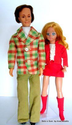 Boneco  Beto de 1974  namorado da Boneca Susi***R***
