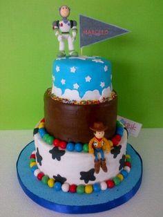 Torta Toy Story by Rina Padilla KEIK Barranquilla, Colombia