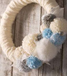 Makers Guide: Winter Yarn Wreath - Project Materials
