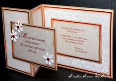 A Simple Z-Fold Christmas Card by kcs1955 - Cards and Paper Crafts at Splitcoaststampers