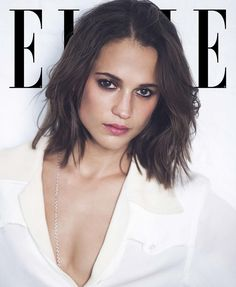 Alicia for Elle Magazine's September issue. Photographed by David Bellemere. #aliciavikander